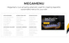 "Magento Theme namens ""Parts'n'Tires - Car Tuning Clean Responsive"" Großer Screenshot"