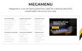 "Magento Theme namens ""Parts'n'Tires - Car Tuning Clean Responsive"""