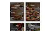 "Ru Website Template namens ""Foodure - Restaurant Ready-to-Use Multipage HTML"""