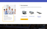 """Inprom - Industrial Ready-to-Use Multipage HTML"" Responsive Ru Website Template"
