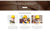 """Concraft - Construction Ready-to-Use HTML"" 响应式Ru Website Template"