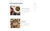 """Website Vorlage namens """"TEA Production - Tea Shop Multipage Modern HTML"""" Großer Screenshot"""