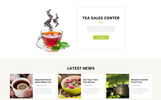 Responsywny szablon strony www TEA Production - Tea Shop Multipage Modern HTML #76270
