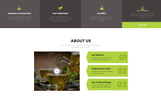 Responsivt TEA Production - Tea Shop Multipage Modern HTML Hemsidemall