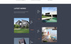 ARMA - Construction One Page Clean HTML Templates de Landing Page  №76350 Screenshot Grade