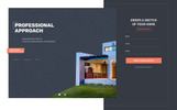 ARMA - Construction One Page Clean HTML Templates de Landing Page  №76350