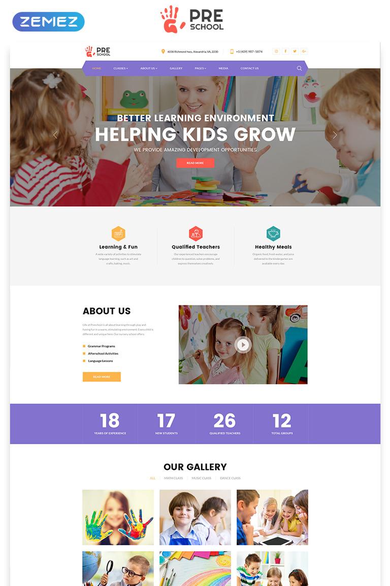 person template preschool.html