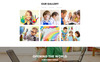 """Preschool - Education Multipage Clean HTML"" Responsive Website template Groot  Screenshot"