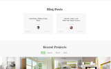 Intercube - Interior Design Ready-to-Use Modern HTML5 Template Web №76650