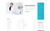 """Global - Dental Center Multipage Clean HTML5"" 响应式网页模板 大的屏幕截图"