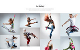 Reszponzív Dancehub - Dance Studio One Page Classic HTML Nyítóoldal sablon