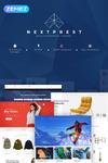 Reszponzív NextPrest - Multipurpose Clean Ecommerce Bootstrap PrestaShop sablon