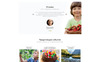 """Agroservis - Organic Food Ready-to-Use HTML"" Responsive Ru Website Template Groot  Screenshot"