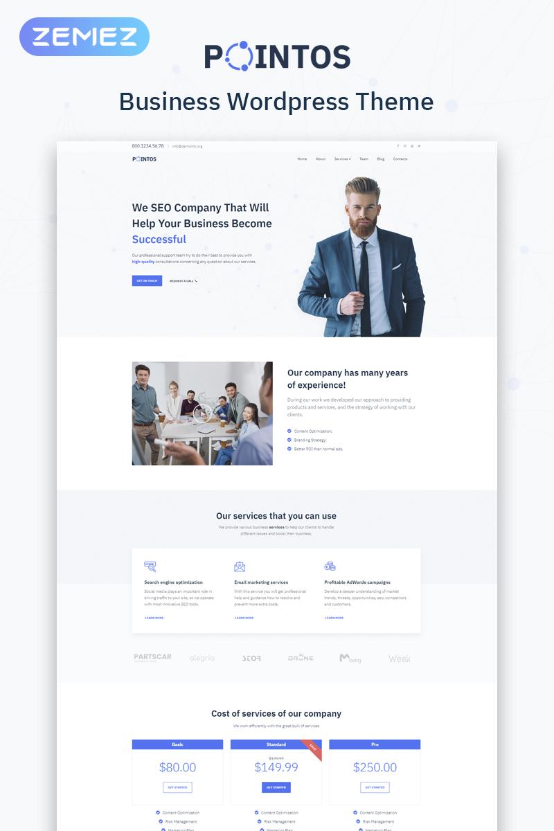 Pointos - SEO Consulting Multipurpose Modern Elementor WordPress Theme  #77079