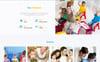 """Smart Kids - Kids Center Ready-to-Use Creative HTML"" modèle web adaptatif Grande capture d'écran"