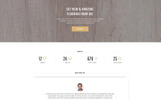 """Modello di Landing Page Responsive #77087 """"Flooria - Flooring One Page Clean HTML"""""""