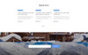 Peak - Hotels One Page Clean HTML Templates de Landing Page  №77088 Screenshot Grade