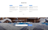 Peak - Hotels One Page Clean HTML Templates de Landing Page  №77088