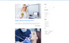 """Dentis - Dental Clinic Ready-To-Use Multipage HTML"" Responsive Ru Website Template Groot  Screenshot"