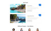 Go Agency - Travel Agency Clean Bootstrap HTML Templates de Landing Page  №77144 Screenshot Grade