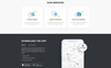 "Template di Landing Page Responsive #77212 ""Taxpro - Taxi Minimal Bootstrap HTML"" Screenshot grande"