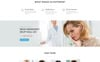 Crystal - Dentistry Clean Bootstrap HTML Landing Page Template Big Screenshot