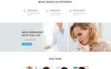 """Crystal - Dentistry Clean Bootstrap HTML"" modèle  de page d'atterrissage adaptatif"