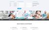 Responsywny szablon Landing Page Crystal - Dentistry Clean Bootstrap HTML #77209 Duży zrzut ekranu