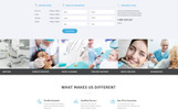 Crystal - Dentistry Clean Bootstrap HTML Landing Page Template