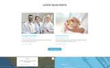 Responsywny szablon Landing Page Crystal - Dentistry Clean Bootstrap HTML #77209