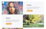Emorton - Artist Portfolio Ready-To-Use Multipage HTML5 Ru Website Template