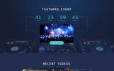 DJ FOX - DJ Multipage Creative Bootstrap HTML Website Template