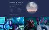 DJ FOX - DJ Multipage Creative Bootstrap HTML Website Template Big Screenshot