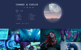 "Website Vorlage namens ""DJ FOX - DJ Multipage Creative Bootstrap HTML"""