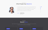 ConsultBiz - Financial Advisor Multipage Classic HTML Bootstrap Website Template