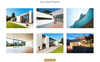 "Landing Page Template namens ""Concept - Architecture Creative HTML Bootstrap"" Großer Screenshot"
