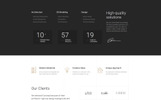 "Landing Page Template namens ""Concept - Architecture Creative HTML Bootstrap"""