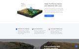 Responsywny szablon Landing Page Aqua - Water Clean HTML Bootstrap #77532