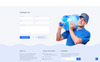 Aqua - Water Clean HTML Bootstrap Landing Page Template Big Screenshot