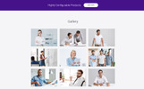 Softlabs - Software Company Creative HTML Bootstrap Templates de Landing Page  №77619