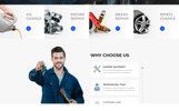 """Autopoint - Car Repair Multipage Creative HTML"" modèle web adaptatif"