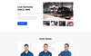 """Autopoint - Car Repair Multipage Creative HTML"" modèle web adaptatif Grande capture d'écran"