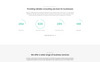 "Landing Page Template namens ""Alliance - Management & Consulting Modern HTML5"" Großer Screenshot"