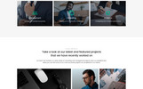 "Landing Page Template namens ""Alliance - Management & Consulting Modern HTML5"""