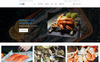 Responsywny szablon Shopify Big Fish - Seafood Restaurant Bright #77718 New Screenshots BIG