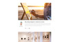 """Jasmine Mills - Art Ready-to-Use Creative HTML"" Responsive Website template Groot  Screenshot"