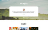 """Green Day - Food Store Clean HTML Bootstrap"" 响应式着陆页模板"