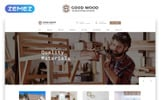 "Tema di Landing Page Responsive #77934 ""Good Wood - Interior & Furniture Clean HTML"""
