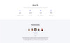 "Landing Page Template namens ""Lee - Photographer Portfolio Minimal HTML5"" Großer Screenshot"
