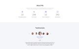 "Landing Page Template namens ""Lee - Photographer Portfolio Minimal HTML5"""